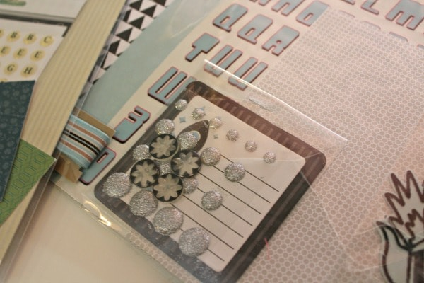 monthly scrapbook kit review