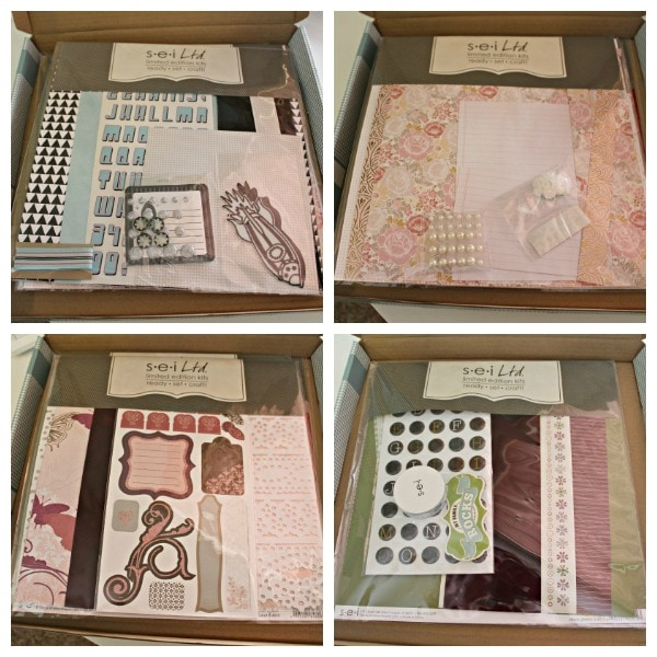 Club SEI Scrapbook Kit Review