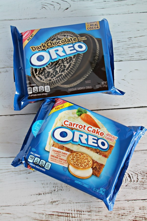 OREO Has new unique varieties available