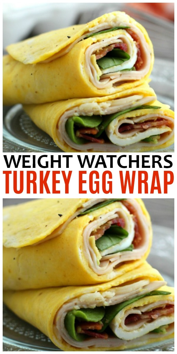 Weight Watches Turkey Egg Wrap