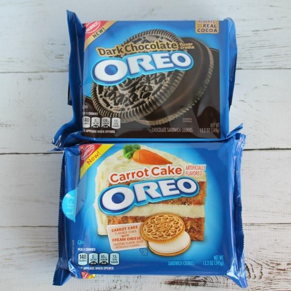 New OREO cookies