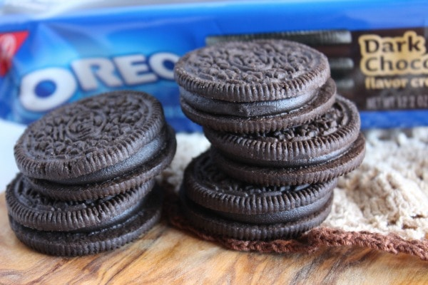 Dark Chocolate OREO cookies