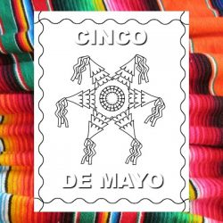 free Cinco de Mayo Color Pages