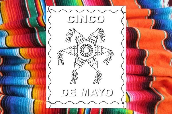 free Cinco de Mayo Color Pages