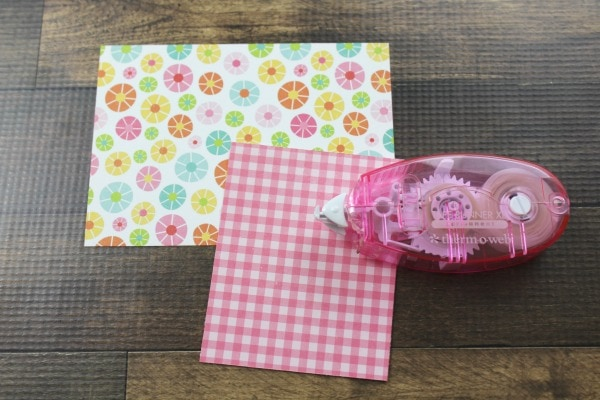 how to make a pocket for journal tags