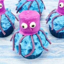 easy Octopus Cupcakes