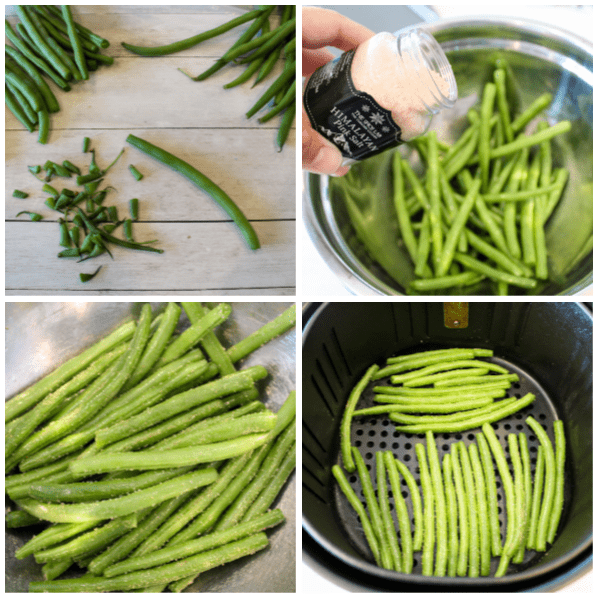 how to make Air Fryer Green Beans