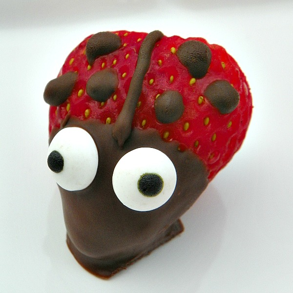 Lady Bug Strawberries