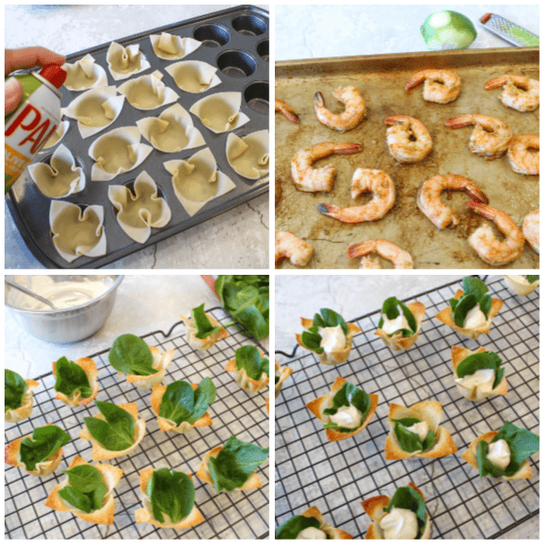 how to make Weight Watchers Cajun Shrimp Cups