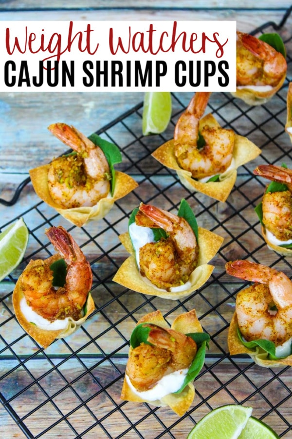 Weight Watchers Cajun Shrimp Cups