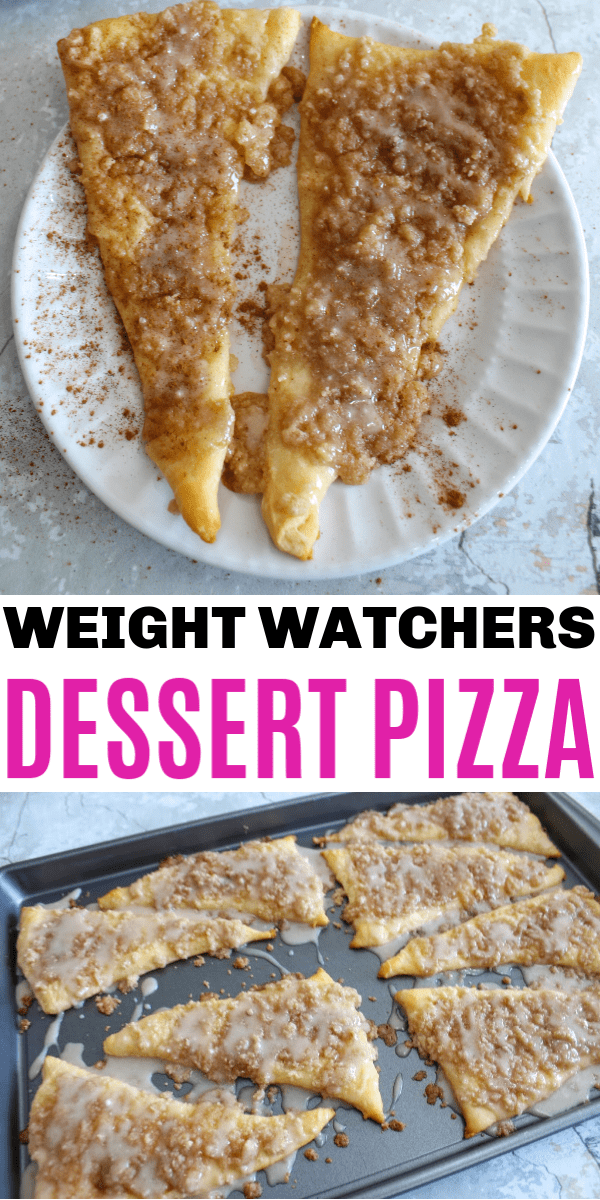 Weight Watchers Dessert Pizza