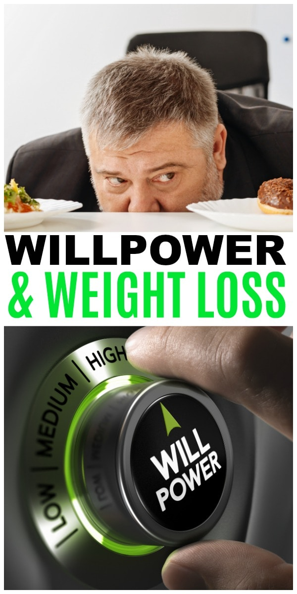 willpower and weight loss