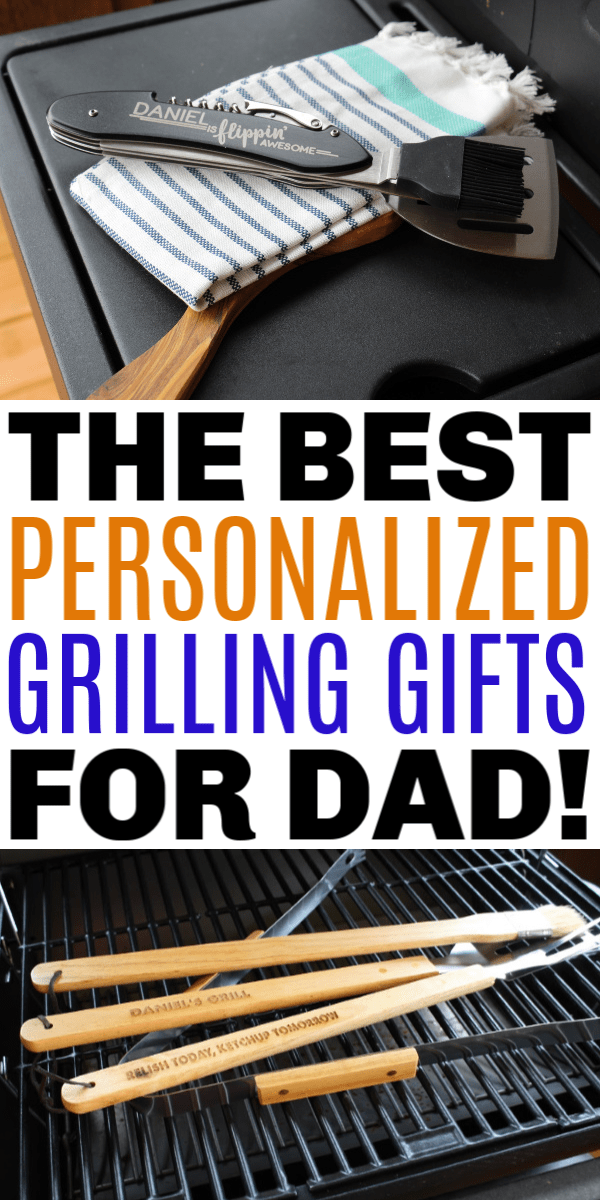 best personalized grilling gifts for dad
