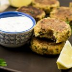 Weight Watchers Crab Cakes and Dipping Sauce
