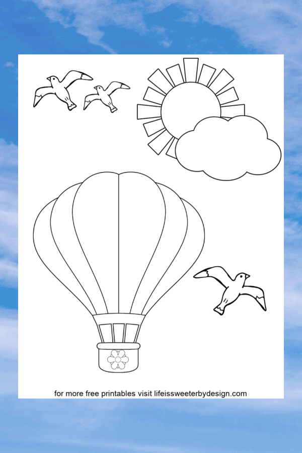 Free Printable Balloons - Coloring Home | 900x600