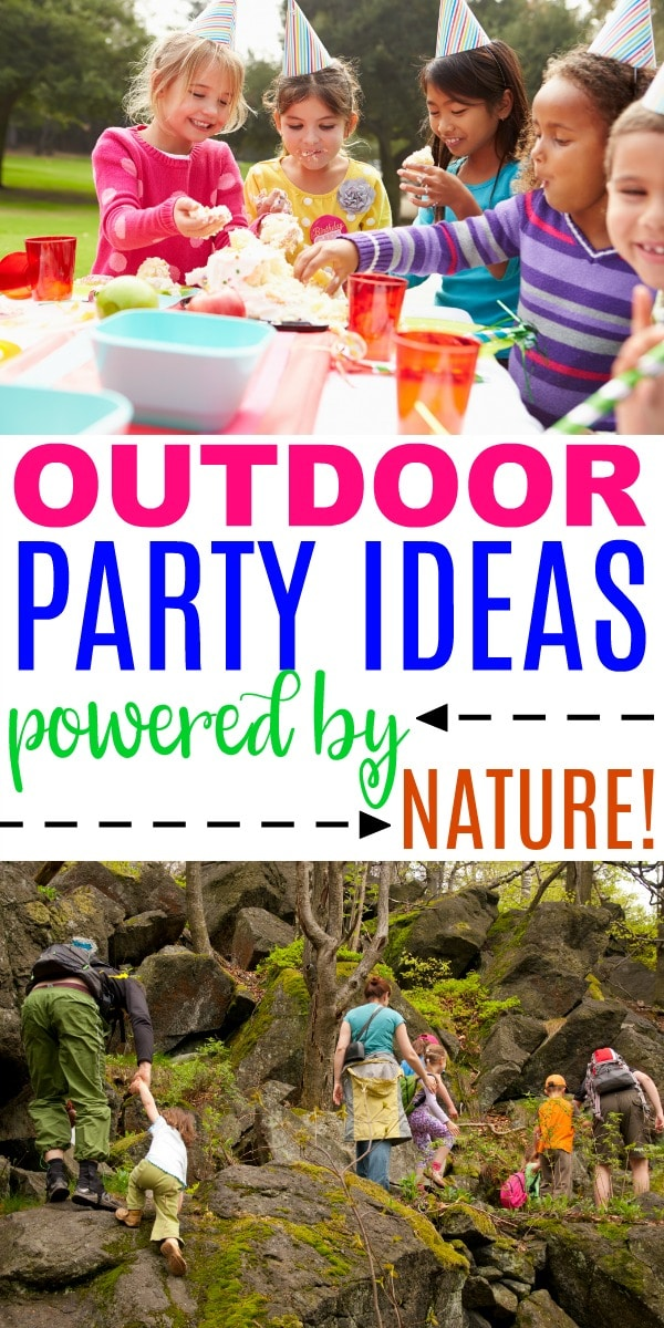 outdoor party ideas powered by nature