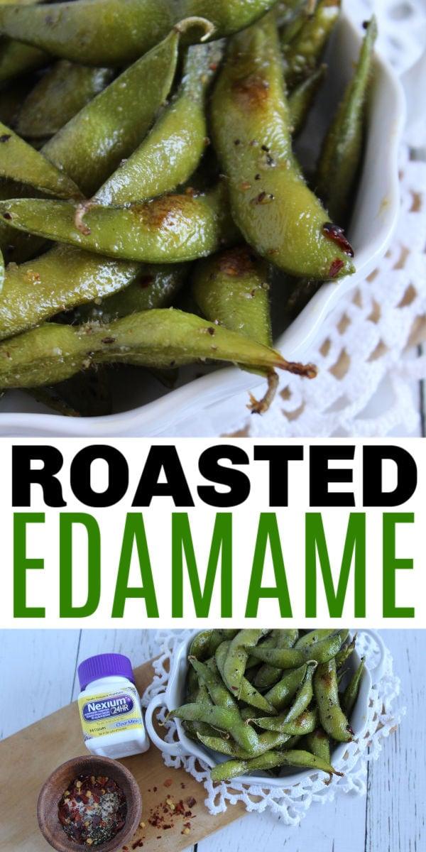 roasted spicy edamame