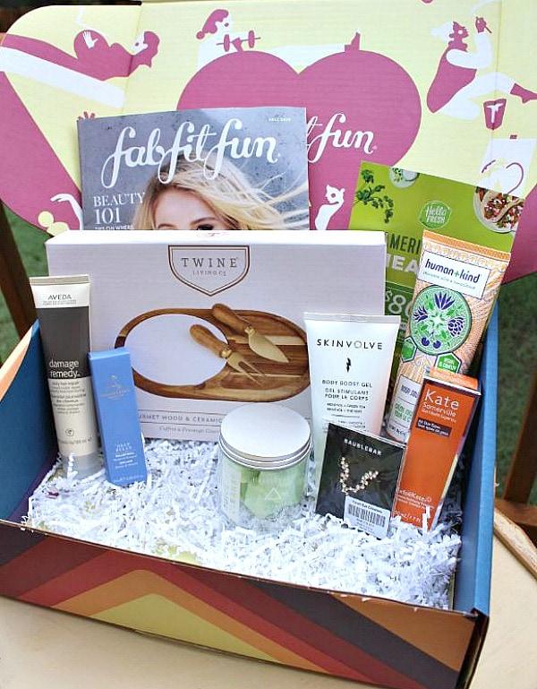 FabFitFun Fall Box 2019 review