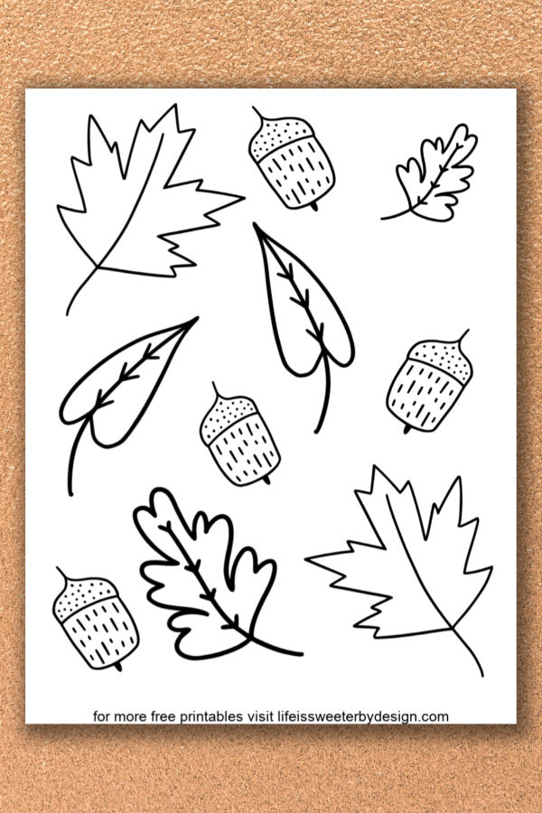 - Fall Leaves Coloring Pages - Life Is Sweeter By Design