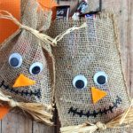 cute and easy scarecrow treat bags