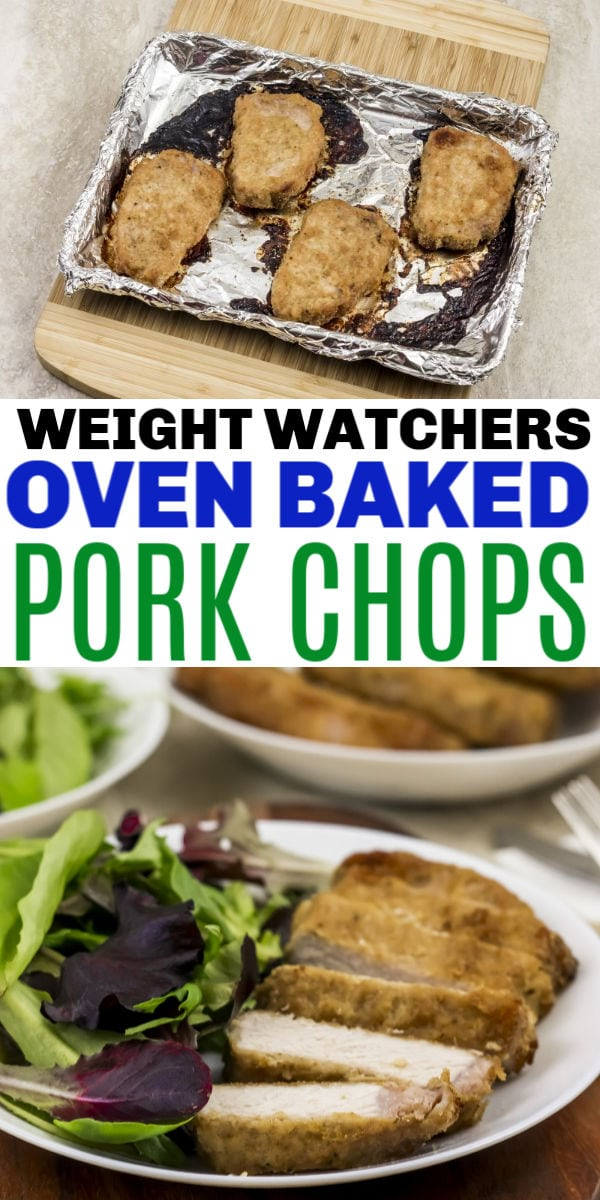 Weight Watchers Baked Pork Chops