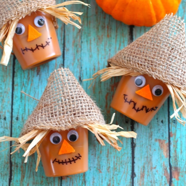 DIY Scarecrow Pudding Cups