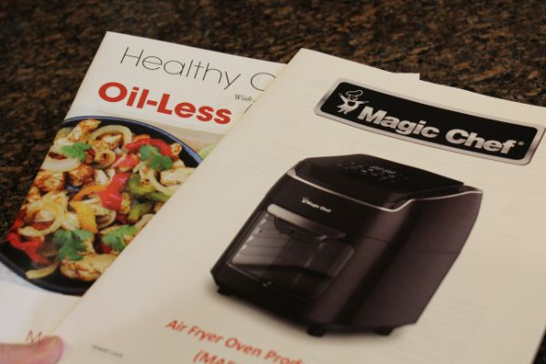 Magic Chef Air Fryer Oven product guide