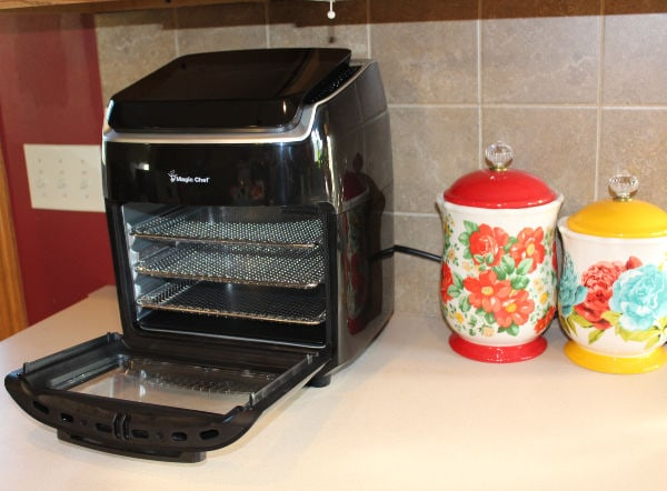 Magic Chef Air Fryer Oven on counter