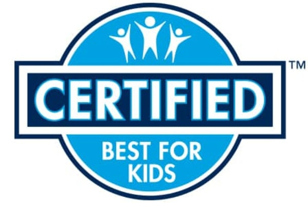 certified best for kids logo