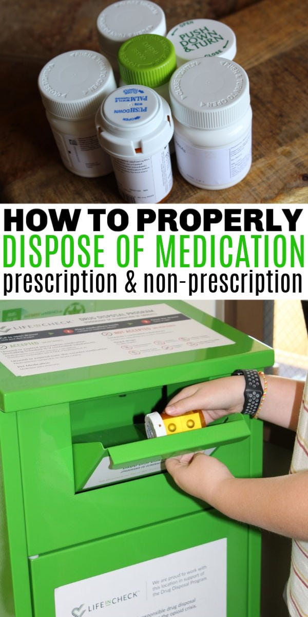 how to properly dispose of prescription medications