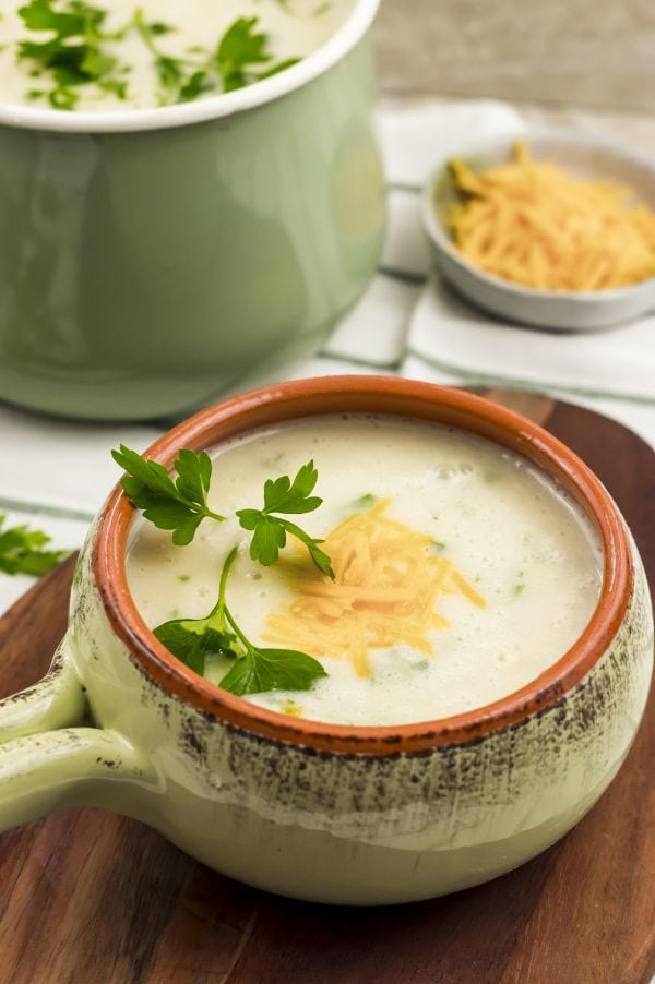how to make Weight Watchers Potato Soup