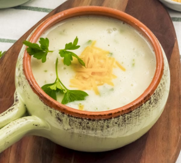 easy how to make Weight Watchers Potato Soup