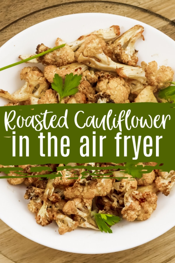 air fryer cauliflower with seasoning