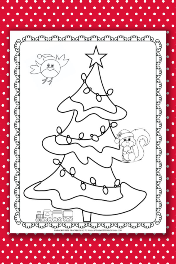 christmas tree coloring pages life is sweeter by design christmas tree coloring pages life is