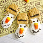 scarecrow cookies for fall