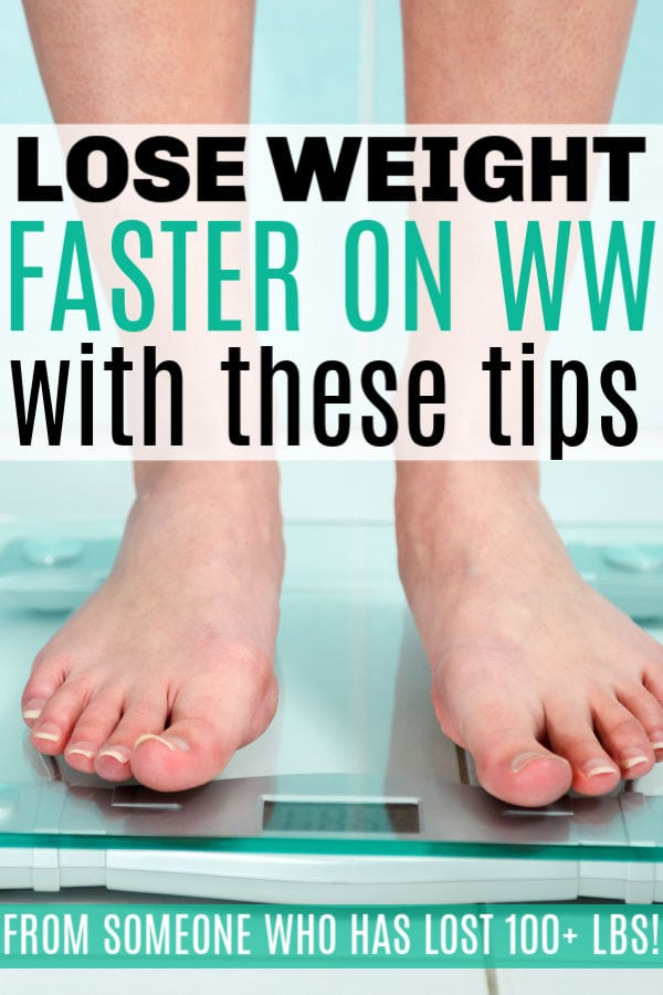 lose weight faster on Weight Watchers