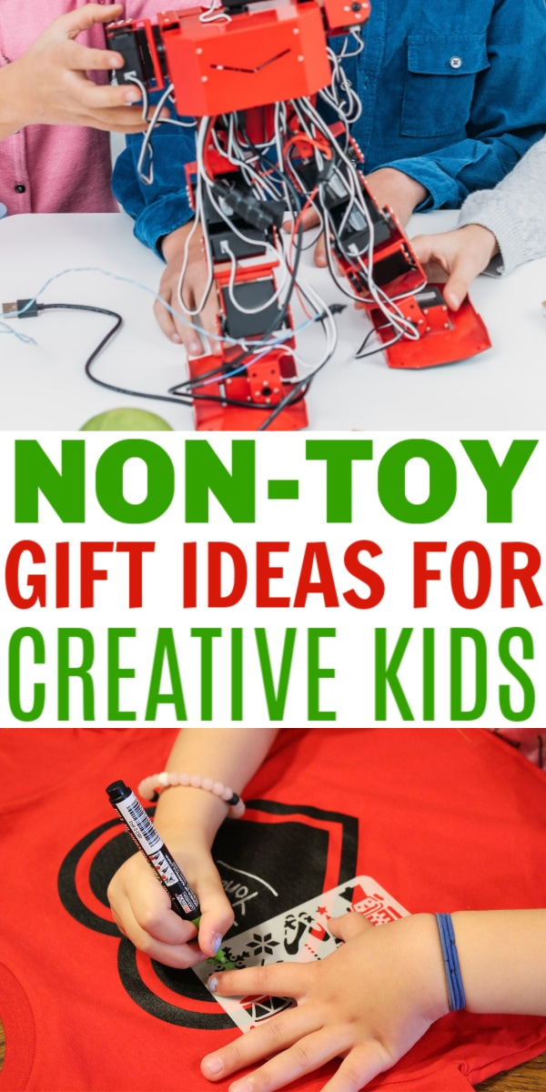 non-toy gift ideas for creative kids