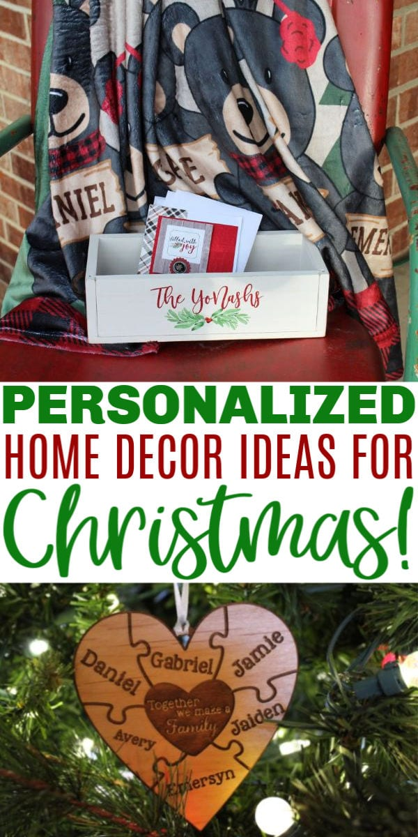 personalized home decor ideas for the holidays