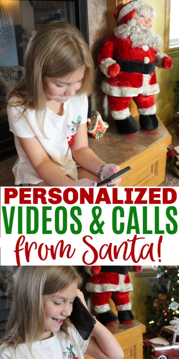 Portable North Pole personalized videos from Santa