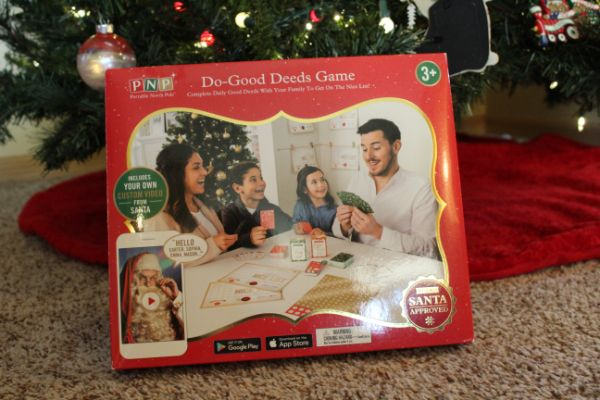 Portable North Pole Do-Good Deeds Game