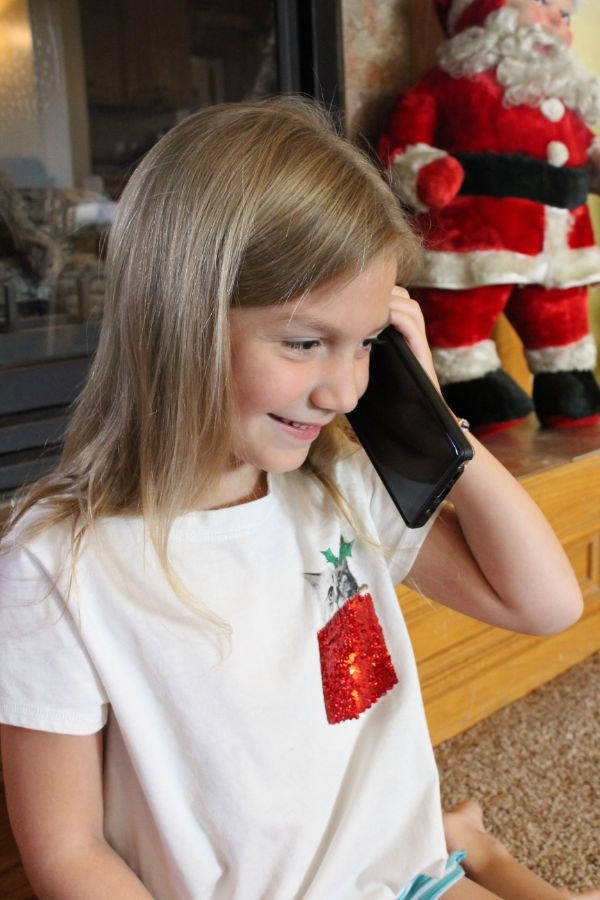 Portable North Pole call from Santa