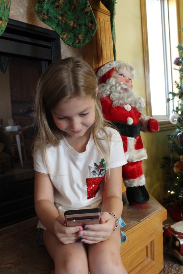 Portable North Pole personalized video from Santa
