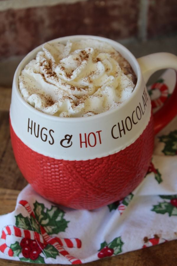 sugar-free spiced smores hot cocoa