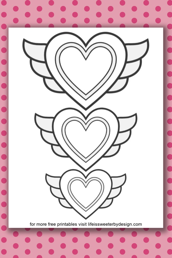 Looking for free printable Valentines Coloring Pages? These sweet ... | 900x600