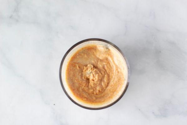instructions for keto peanut butter mug cake