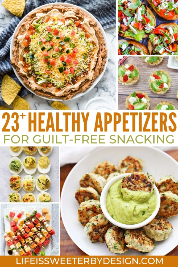 healthy appetizers for your next party