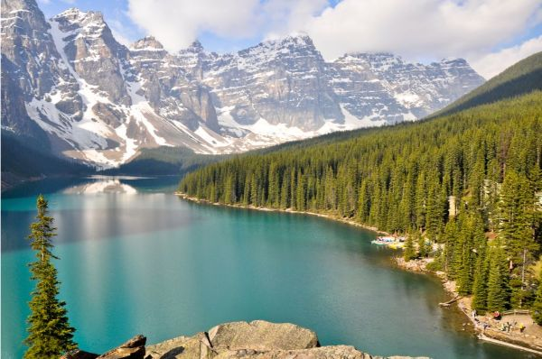 visit Canadian Rockies with kids