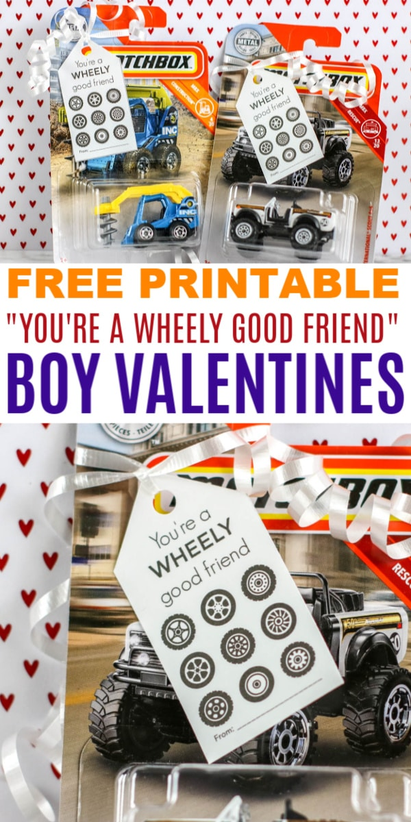 Wheely Good Friend Valentines