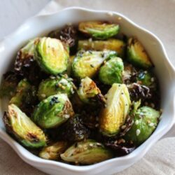 easy air fryer brussels sprouts
