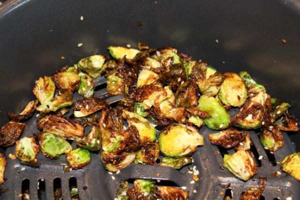 easy steps for making air fryer brussels sprouts